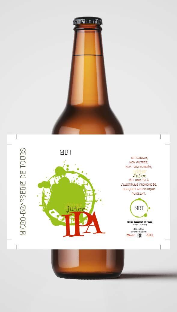 Bière Micro Brasserie de Tours MBT New Better Juice
