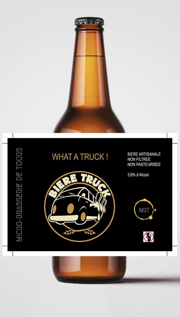 Bière Micro Brasserie de Tours MBT What a truck