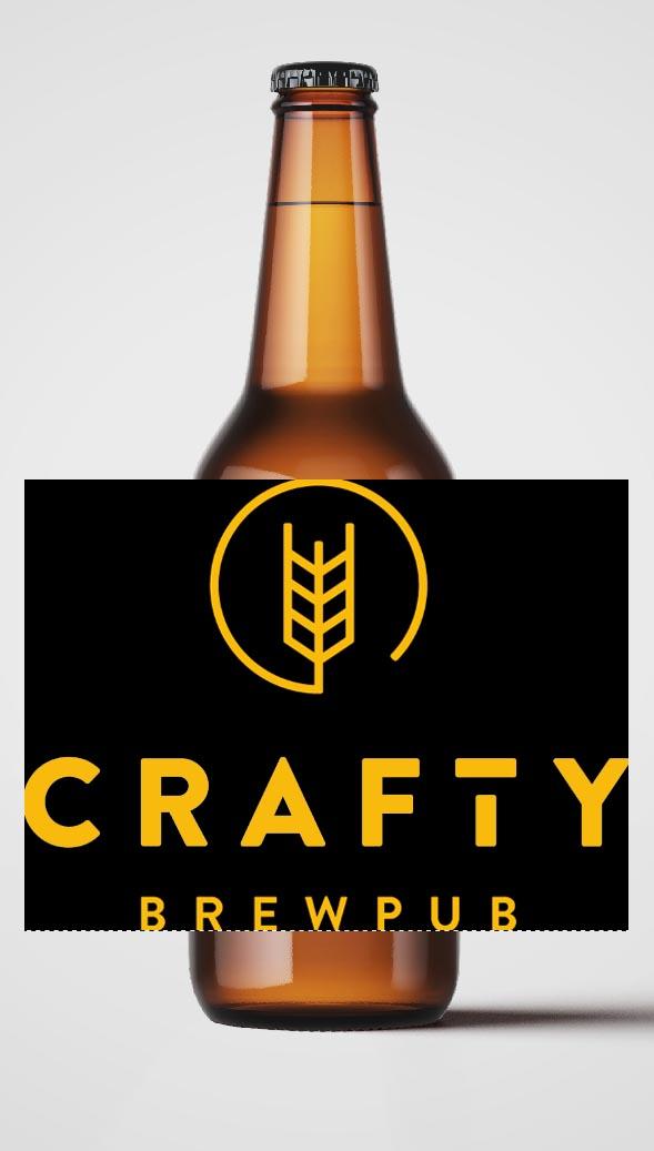 Bière Crafty Brewpub International Pale Ale