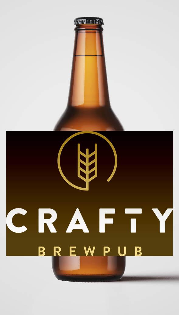 Bière Crafty Brewpub Sacré Hubert