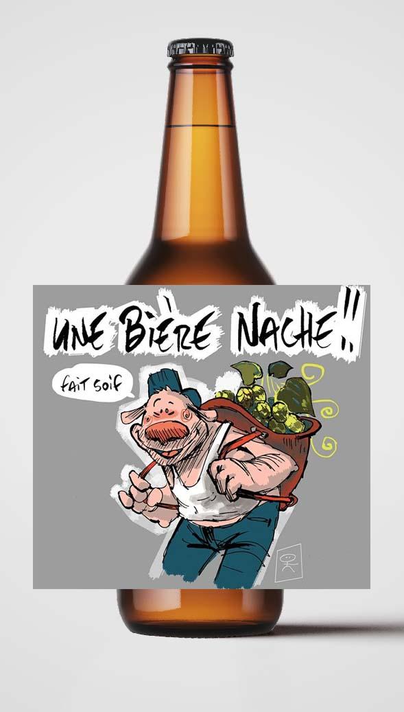 Bière La Pigeonnelle Bière Nache
