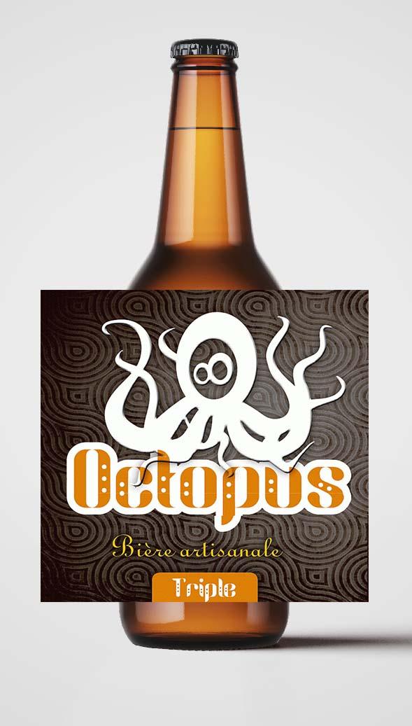 Bière Octopus La Triple