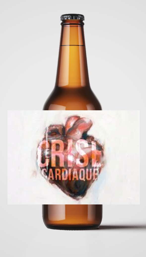 Bière P'tite Maiz Cerise Cardiaque