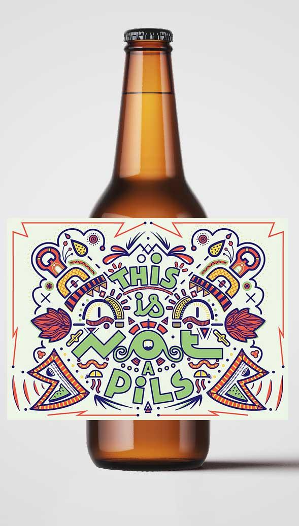 Bière P'tite Maiz This Is Not A Pils